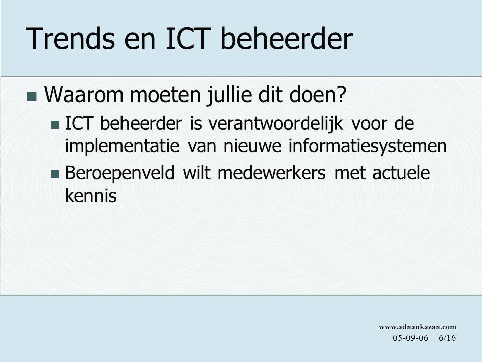 Trends en ICT beheerder