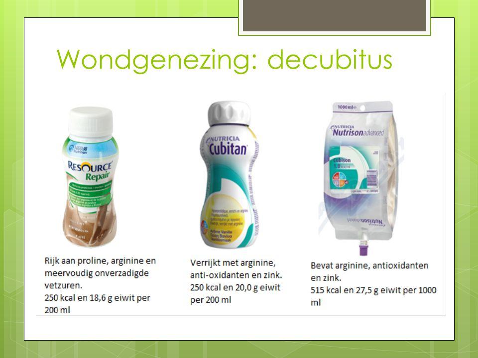 Wondgenezing: decubitus