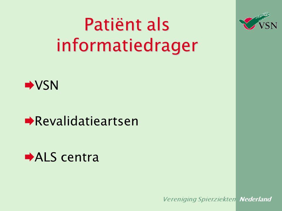 Patiënt als informatiedrager