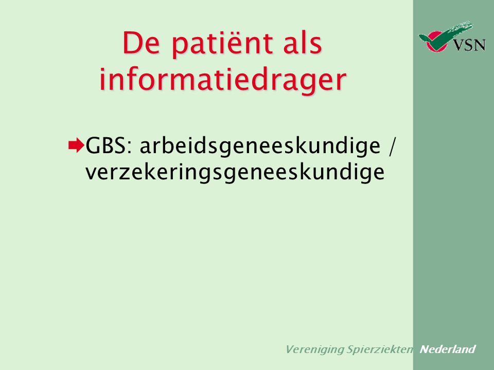 De patiënt als informatiedrager
