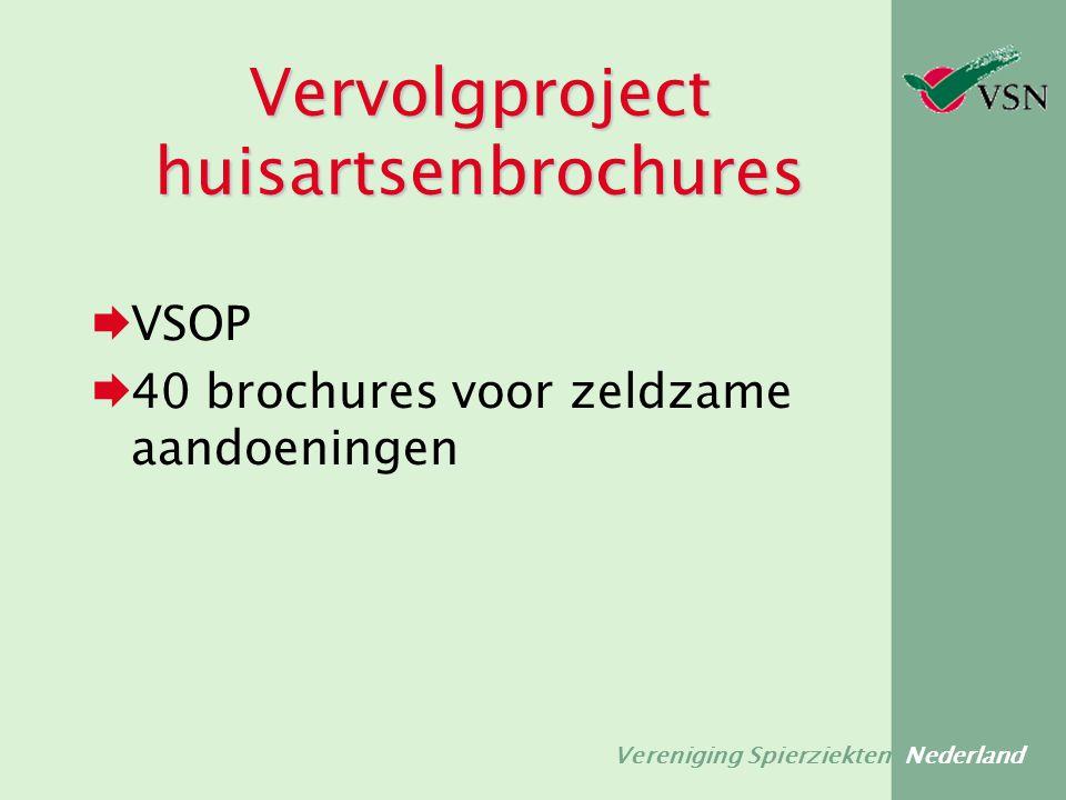 Vervolgproject huisartsenbrochures