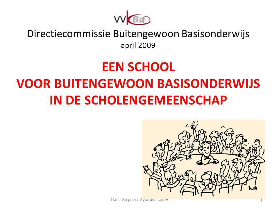 Directiecommissie Buitengewoon Basisonderwijs april 2009