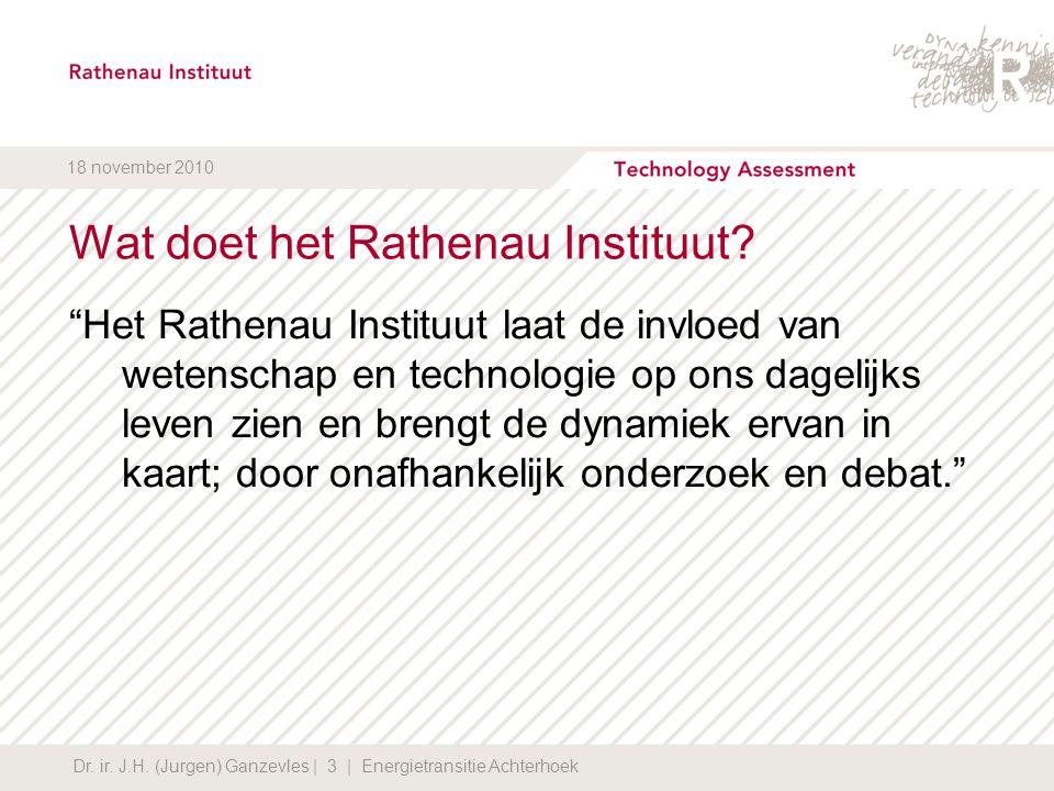 Wat doet het Rathenau Instituut