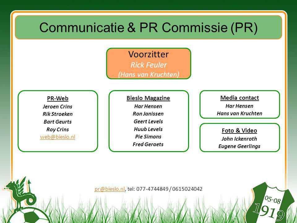 Communicatie & PR Commissie (PR)