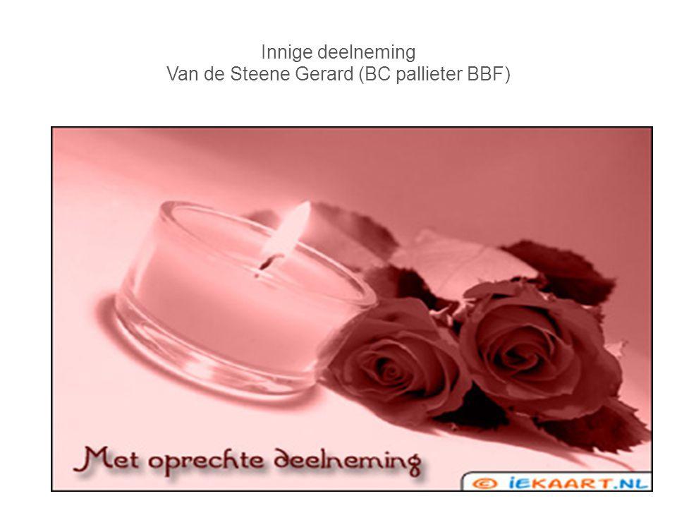 Innige deelneming Van de Steene Gerard (BC pallieter BBF)