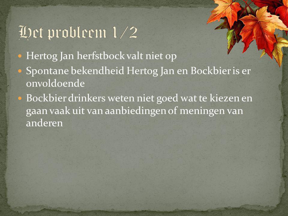 Het probleem 1/2 Hertog Jan herfstbock valt niet op