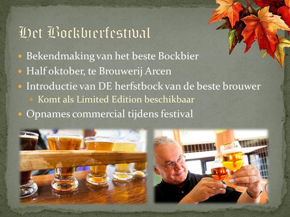 Het Bockbierfestival Bekendmaking van het beste Bockbier