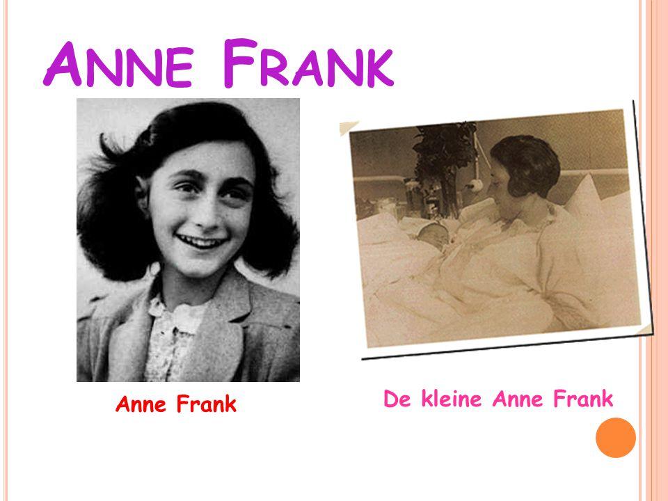 Anne Frank De kleine Anne Frank Anne Frank