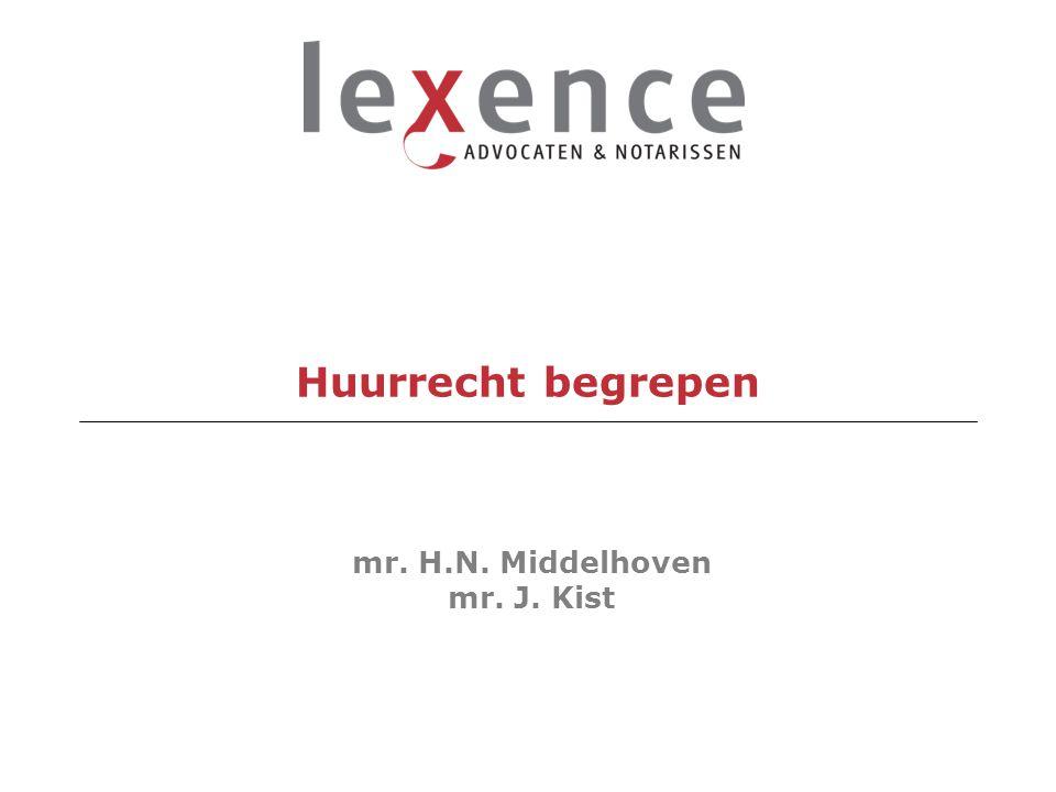 mr. H.N. Middelhoven mr. J. Kist