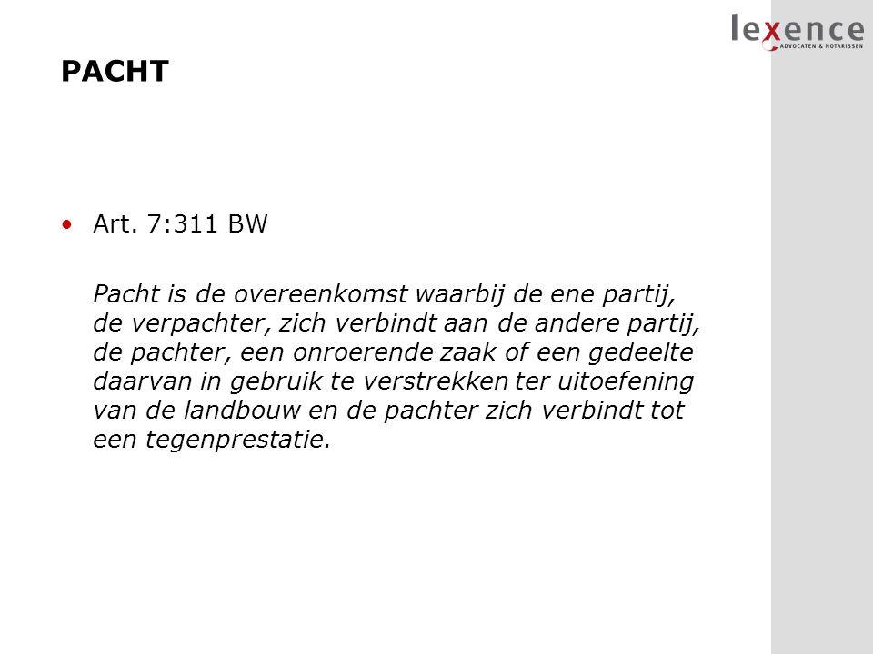 PACHT Art. 7:311 BW.