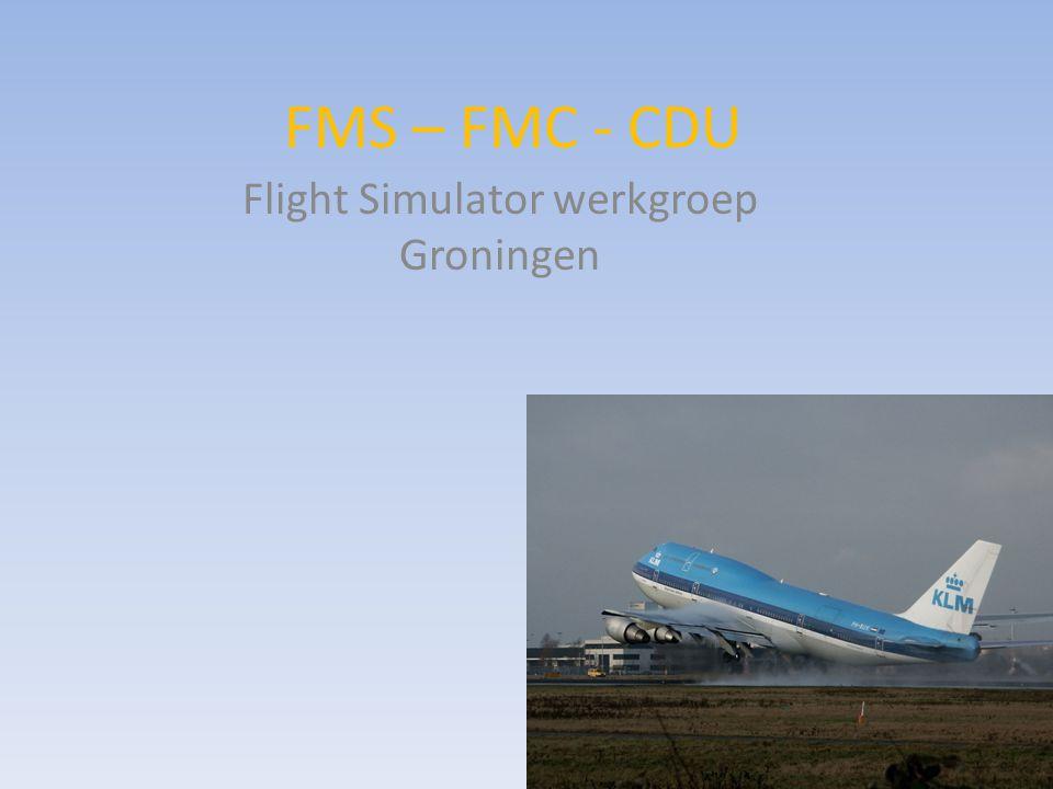 Flight Simulator werkgroep Groningen