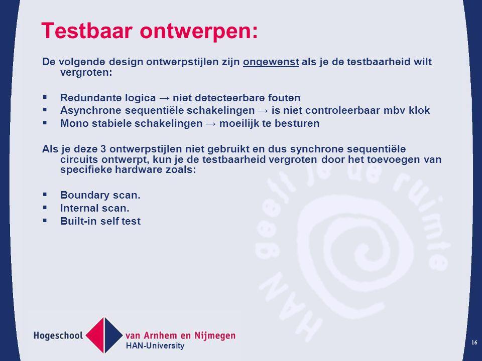 Testbaar ontwerpen: De volgende design ontwerpstijlen zijn ongewenst als je de testbaarheid wilt vergroten: