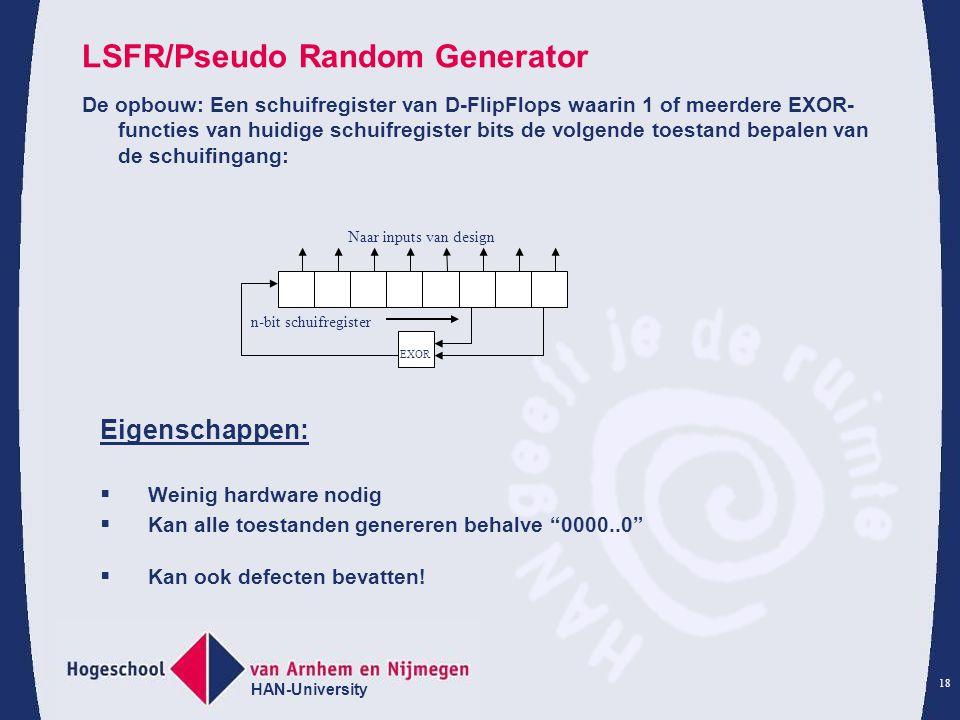 LSFR/Pseudo Random Generator