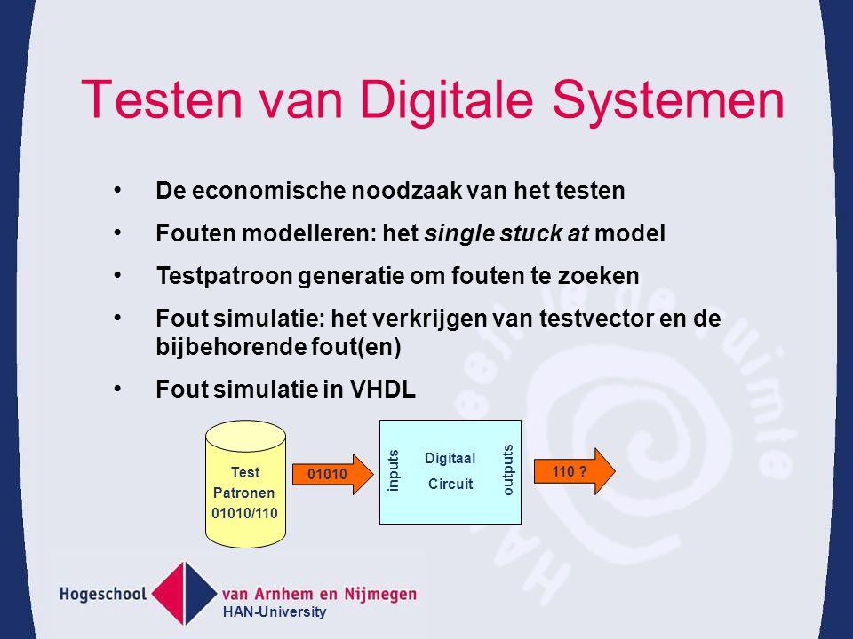 Testen van Digitale Systemen