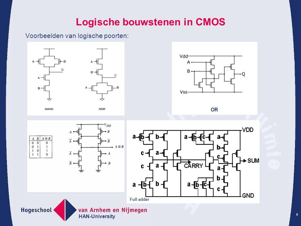 Logische bouwstenen in CMOS