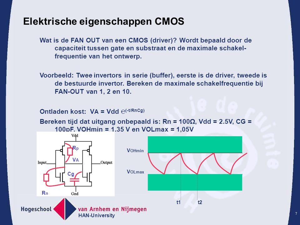 Elektrische eigenschappen CMOS