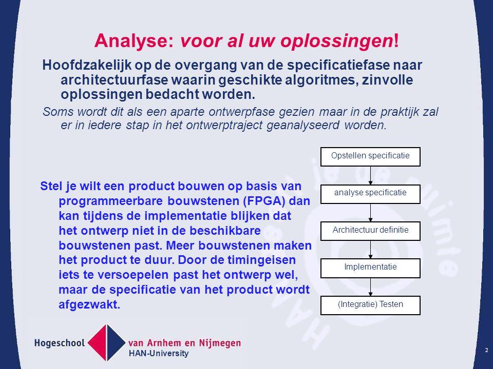 Analyse: voor al uw oplossingen!