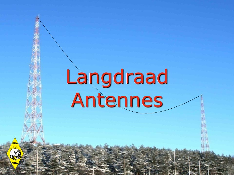 Langdraad Antennes 21