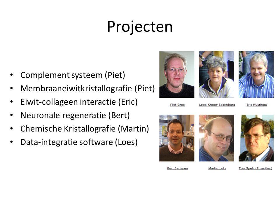Projecten Complement systeem (Piet)