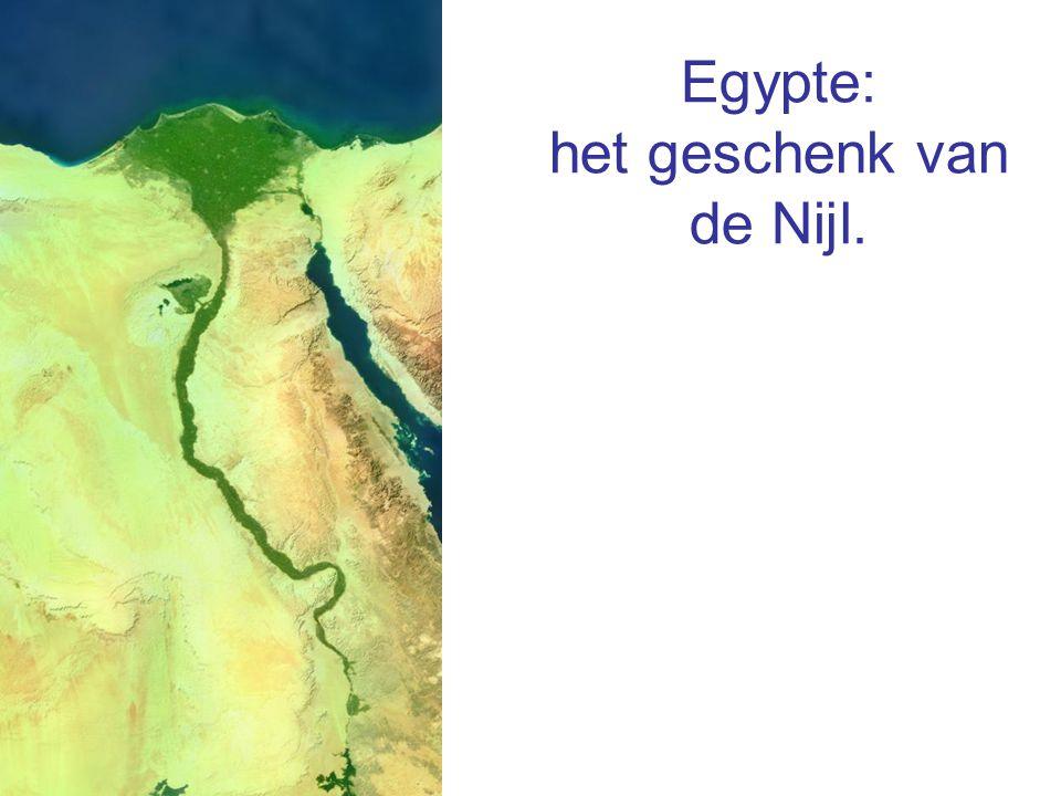 Egypte: het geschenk van de Nijl.