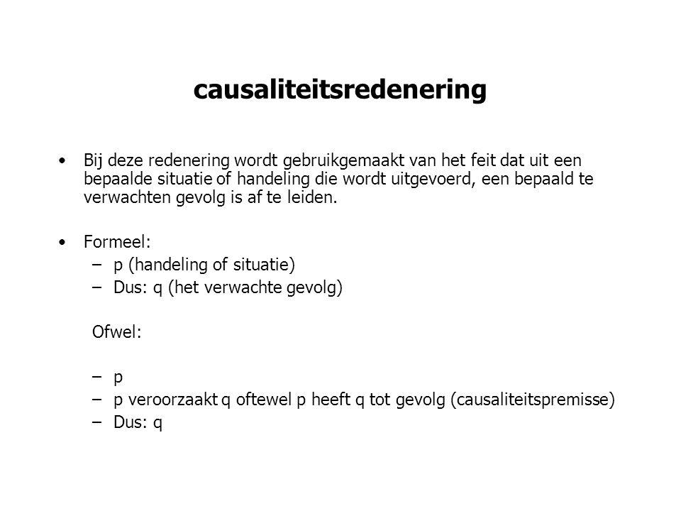 causaliteitsredenering