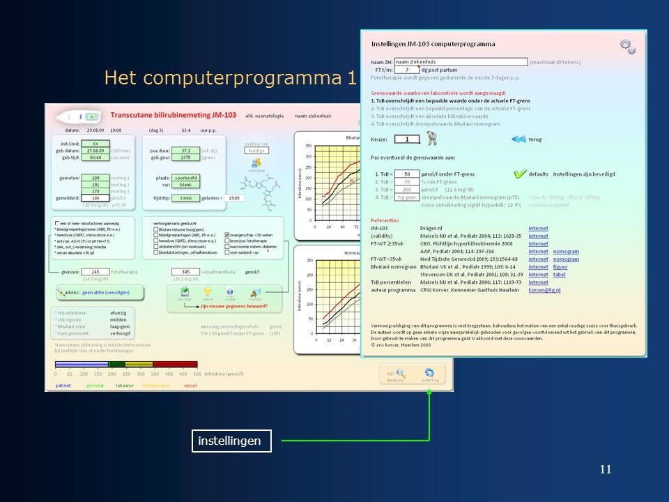 Het computerprogramma 1
