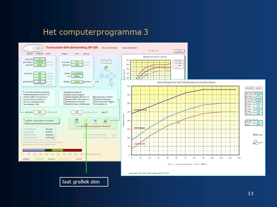 Het computerprogramma 3