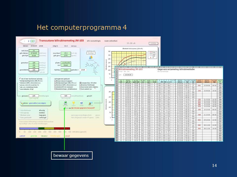 Het computerprogramma 4