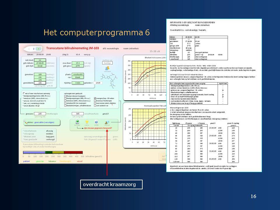 Het computerprogramma 6