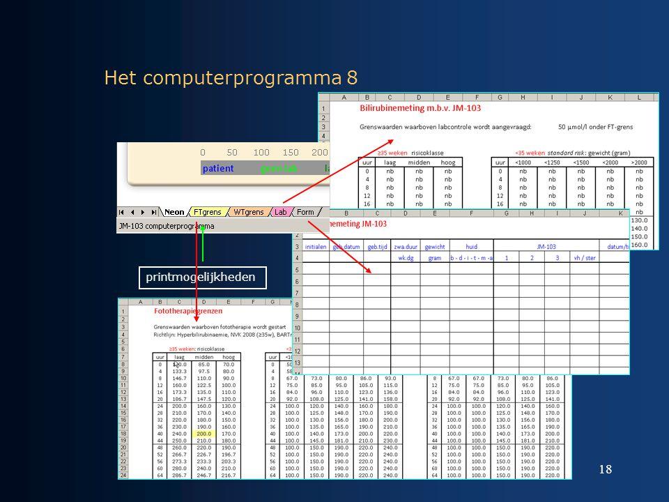Het computerprogramma 8