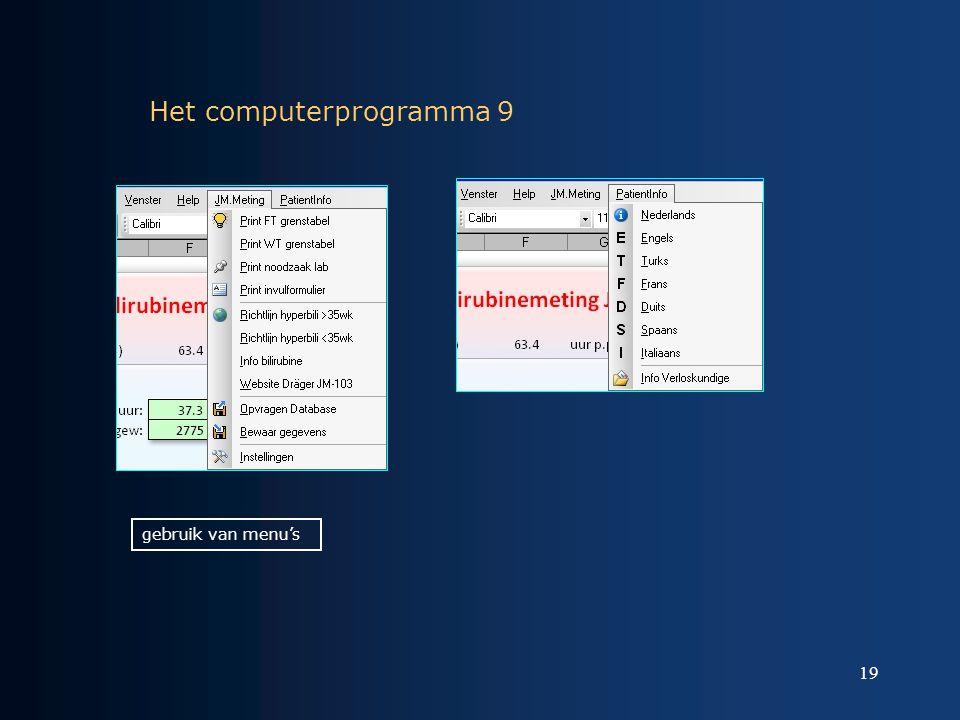Het computerprogramma 9