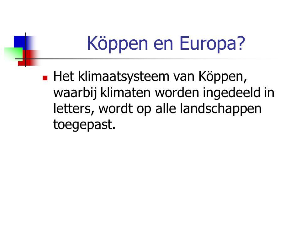 Köppen en Europa.