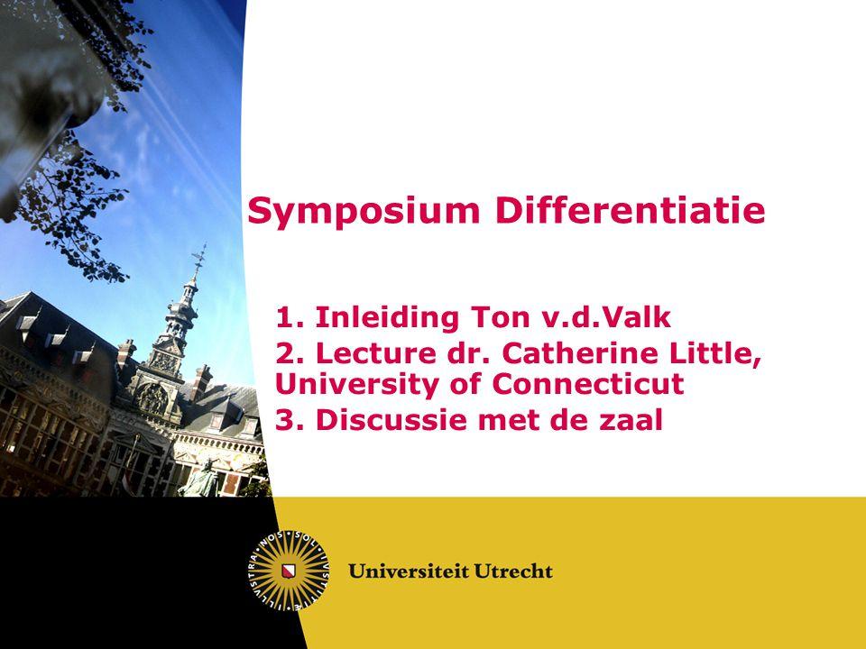 Symposium Differentiatie