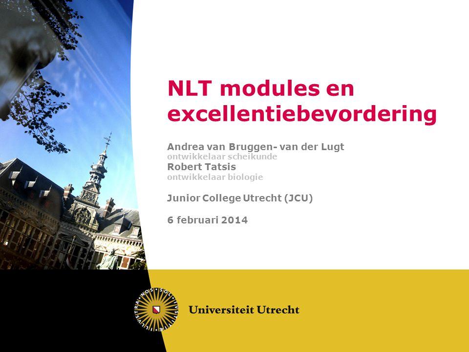 NLT modules en excellentiebevordering