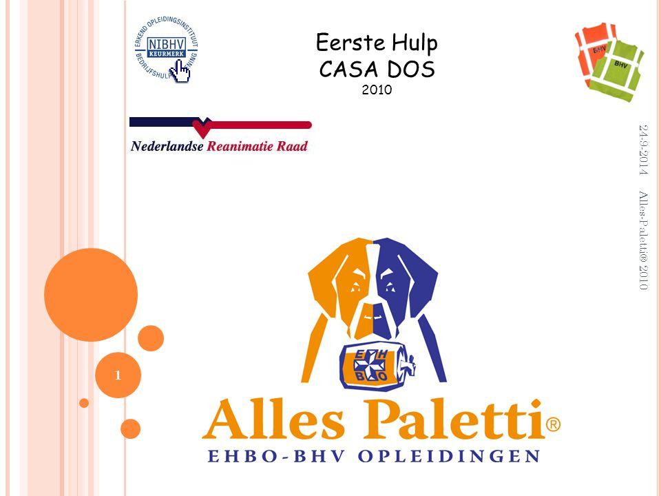 Eerste Hulp CASA DOS 2010 5-4-2017 Alles-Paletti® 2010