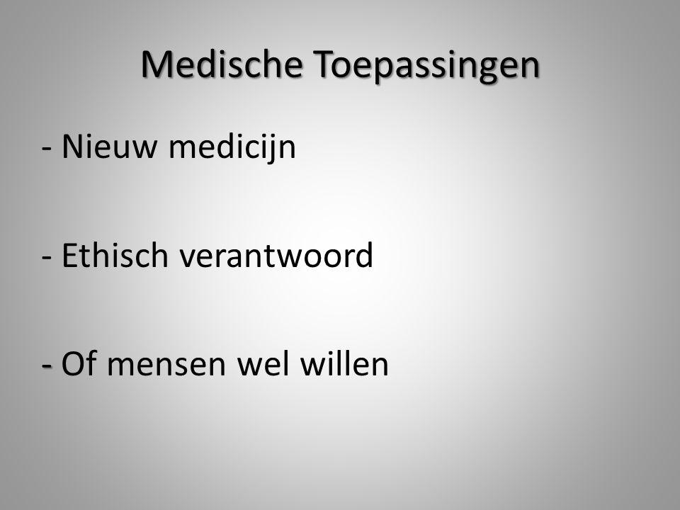 Medische Toepassingen