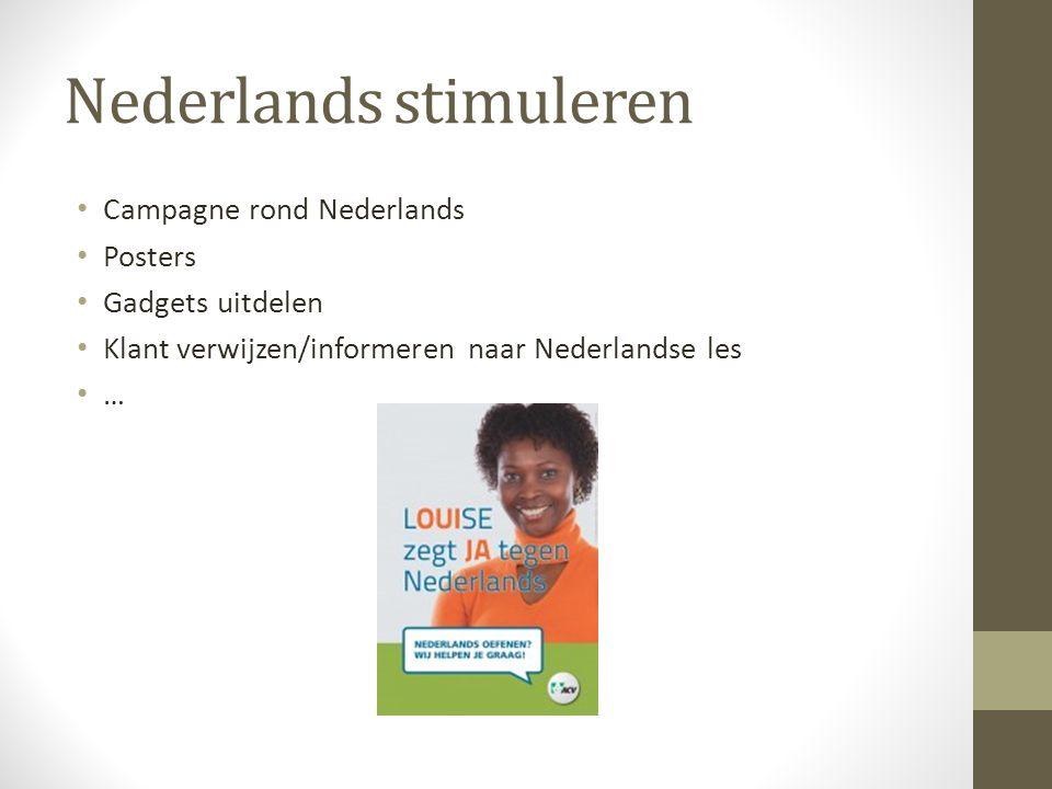 Nederlands stimuleren