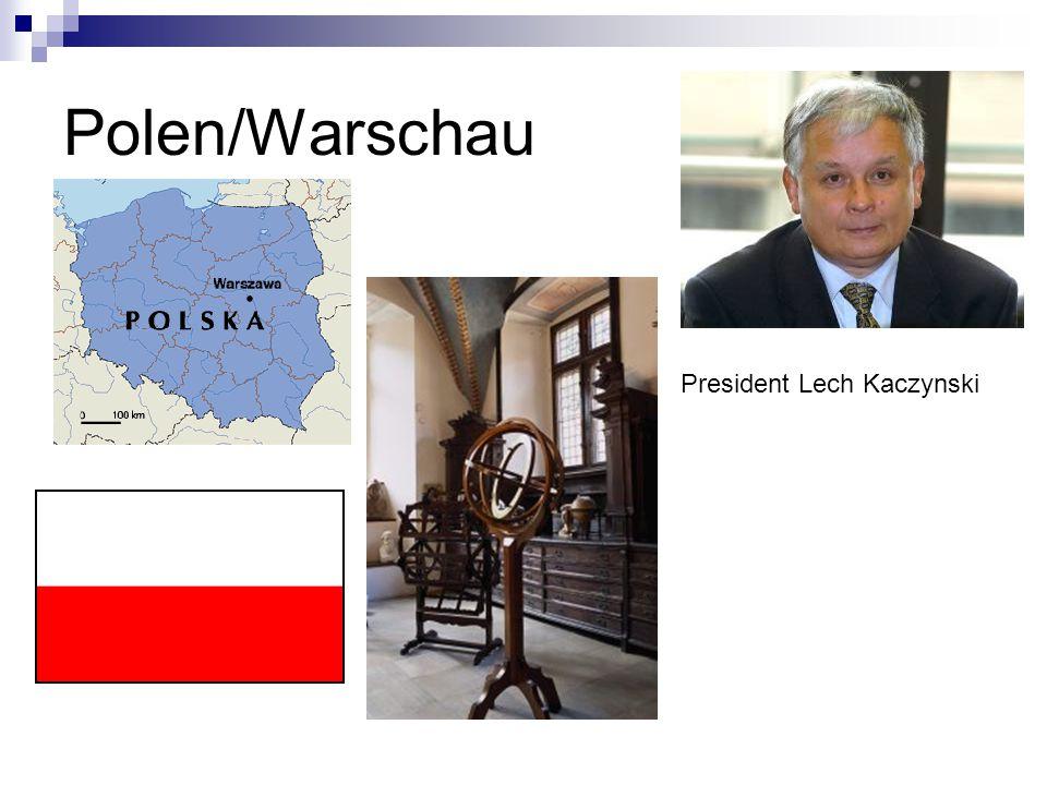 Polen/Warschau President Lech Kaczynski