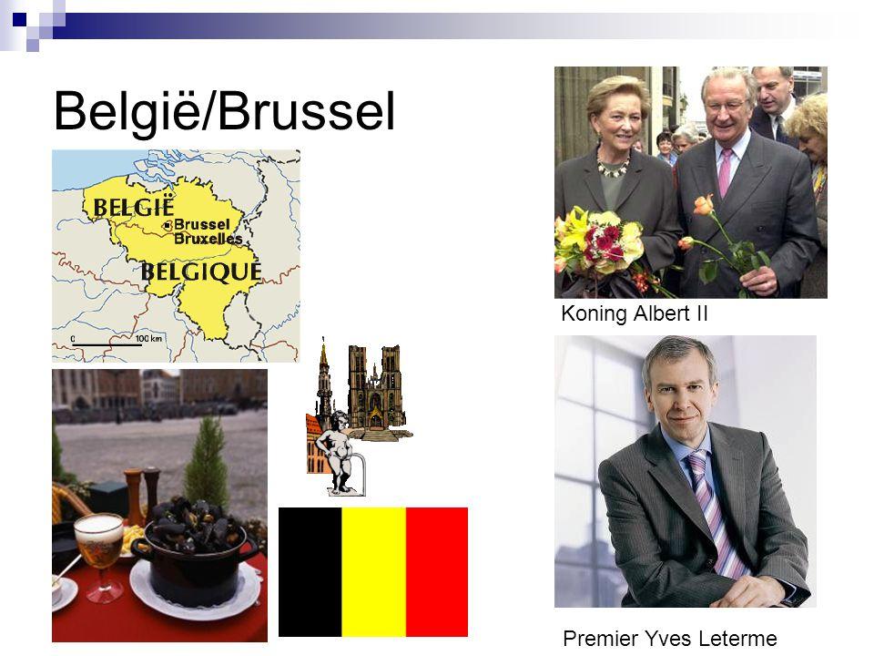 België/Brussel Koning Albert II Premier Yves Leterme