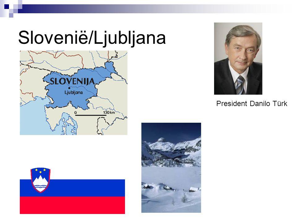 Slovenië/Ljubljana President Danilo Türk