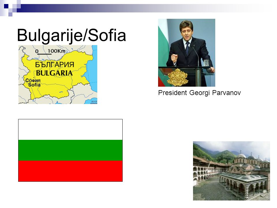 Bulgarije/Sofia President Georgi Parvanov