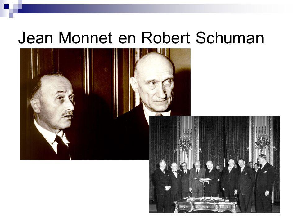 Jean Monnet en Robert Schuman