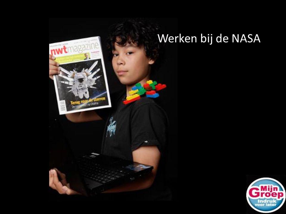 Werken bij de NASA