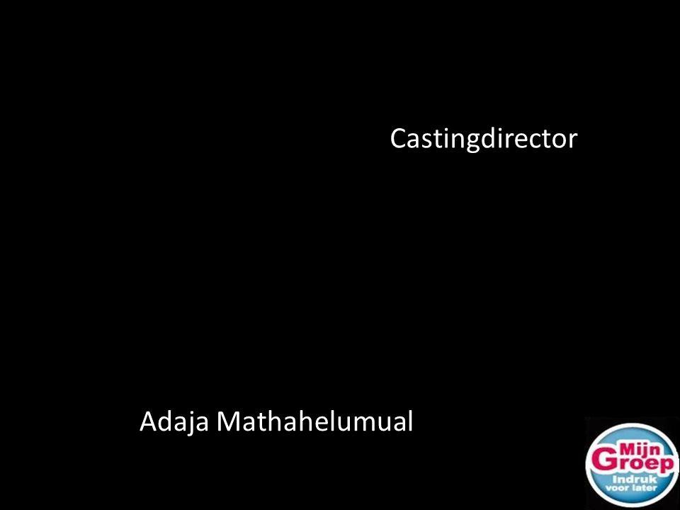 Castingdirector Adaja Mathahelumual