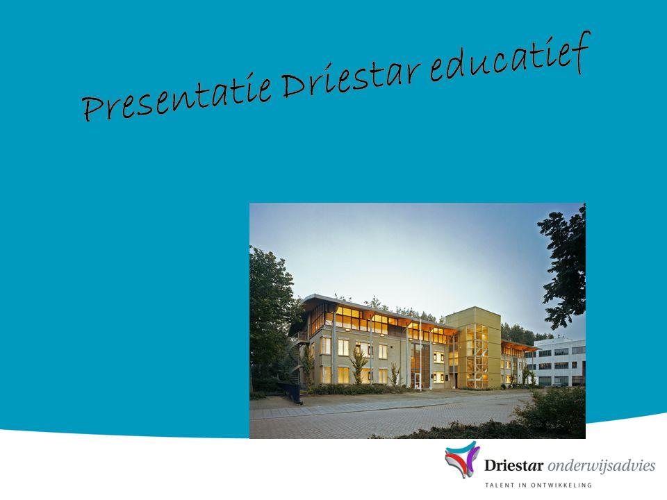 Presentatie Driestar educatief