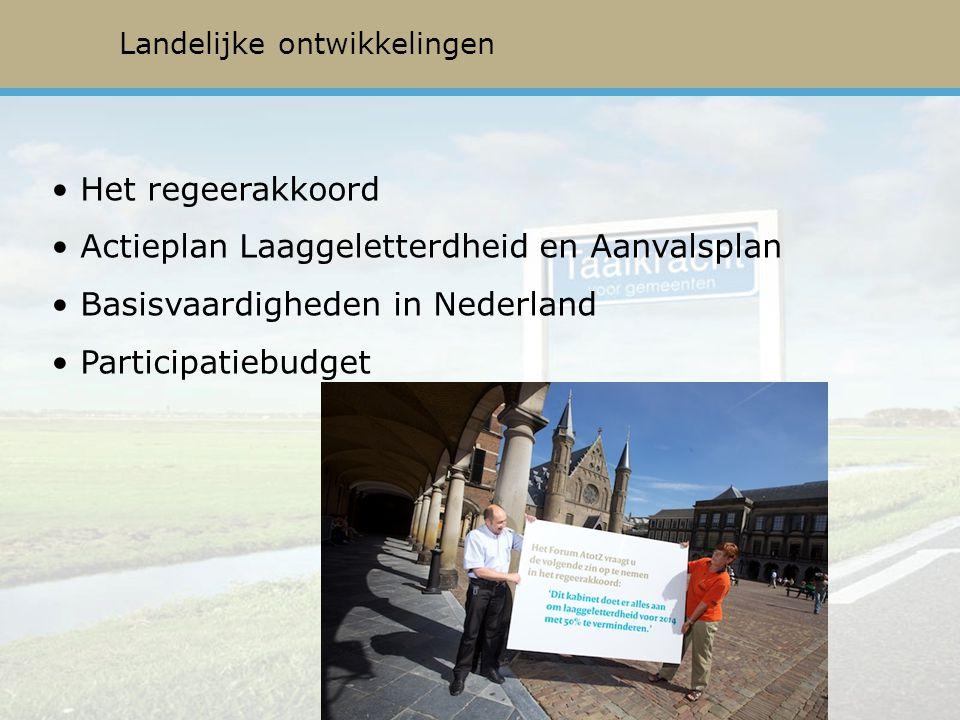 Actieplan Laaggeletterdheid en Aanvalsplan