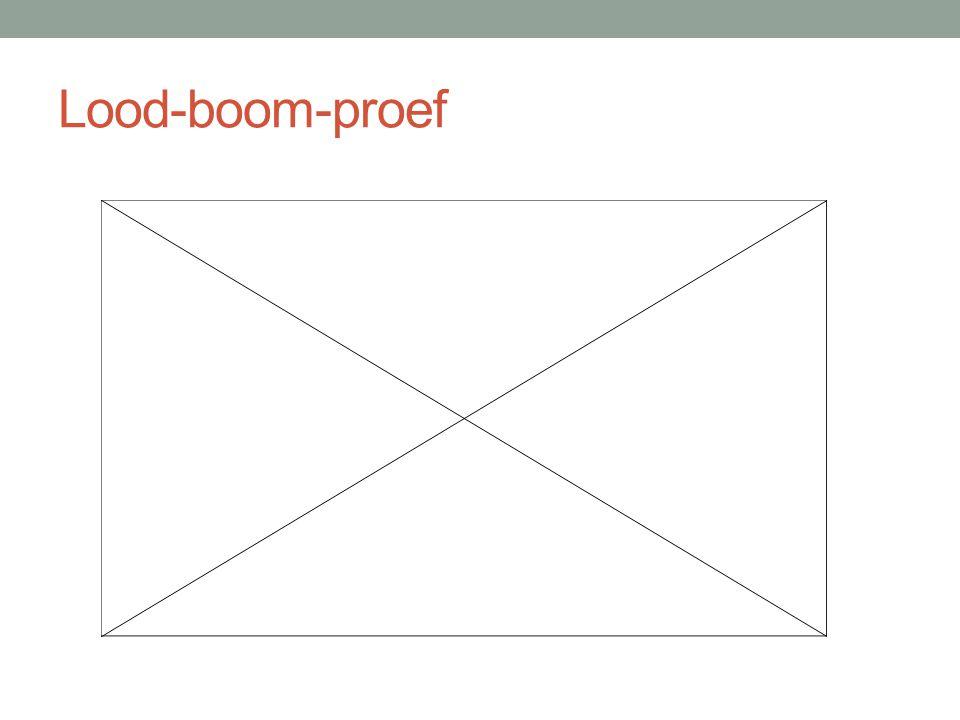 Lood-boom-proef