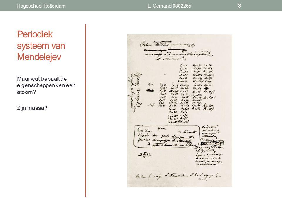 Periodiek systeem van Mendelejev