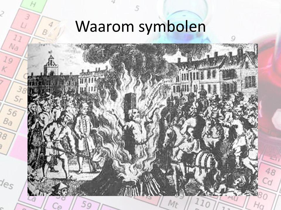 Waarom symbolen