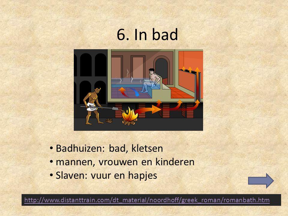 6. In bad Badhuizen: bad, kletsen mannen, vrouwen en kinderen